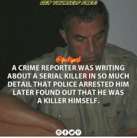 VladoTaneski (1952 – 2008) was a CrimeReporter and Serialkiller. A career journalist for over 20 years, Taneski was arrested in June 2008 in his hometown of Kičevo for the murder of two women on whose death he had also written articles; when arrested he was also being investigated over the death of an additional woman. These articles on the murders had aroused the suspicion of the police, since they contained information which had not been released to the public. After DNA tests connected Taneski to the murders, he was arrested and imprisoned on 22 June 2008 and was found dead in his cell the following day, after an apparent suicide.: A CRIME REPORTER WAS WRITING  ABOUT A SERIAL KILLER IN SO MUCH  DETAIL THAT POLICE ARRESTED HIM  LATER FOUND OUT THAT HE WAS  A KILLER HIMSELF. VladoTaneski (1952 – 2008) was a CrimeReporter and Serialkiller. A career journalist for over 20 years, Taneski was arrested in June 2008 in his hometown of Kičevo for the murder of two women on whose death he had also written articles; when arrested he was also being investigated over the death of an additional woman. These articles on the murders had aroused the suspicion of the police, since they contained information which had not been released to the public. After DNA tests connected Taneski to the murders, he was arrested and imprisoned on 22 June 2008 and was found dead in his cell the following day, after an apparent suicide.