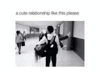 cute relationship: a cute relationship like this please