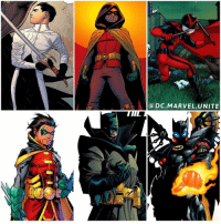 """Does DamianWayne have an Identity Crisis? 😂 Damian is The Fourth (Male) Robin…But he is also The Son of Batman. That's right, Damian is the son of BruceWayne and TaliaAlGhul. Damian was raised by his Mother and The LeagueofAssassins, he was Trained to become the Next RasAlGhul. But when he met his Father, he had a Change of Heart. Shortly after Batman's """"Death"""", DickGrayson became The New Batman for a bit…and Damian also became Robin officially. When Bruce returned Damian developed a very good relationship with him. He even got a new Persona as Red Bird in BatmanInc. But then Damian was Murdered by his evil Clone Brother created by his own mother…known as The Heretic. Damian then was brought back to life from technology from Darkseid's Home World Apokolips. Damian began to develop Super Human Powers and even joined the JusticeLeague for a mission. After his Powers wore off he went on a journey to Nanda Parbat to clear his history with The League of Assassins and make things right. Shortly after that, Damian Now leads the New TeenTitans in DCRebirth. And in the Future Damian becomes BATMAN…except he kills…a lot. Comment Below if you want to see more of these Identity Crisis Posts, so far I've done NightWing, RedHood and RedRobin… Check them out ! DCComics 💥: a DC MARVEL UNITE Does DamianWayne have an Identity Crisis? 😂 Damian is The Fourth (Male) Robin…But he is also The Son of Batman. That's right, Damian is the son of BruceWayne and TaliaAlGhul. Damian was raised by his Mother and The LeagueofAssassins, he was Trained to become the Next RasAlGhul. But when he met his Father, he had a Change of Heart. Shortly after Batman's """"Death"""", DickGrayson became The New Batman for a bit…and Damian also became Robin officially. When Bruce returned Damian developed a very good relationship with him. He even got a new Persona as Red Bird in BatmanInc. But then Damian was Murdered by his evil Clone Brother created by his own mother…known as The Heretic. Damian then was brought bac"""