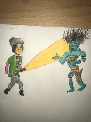 A dead by daylight drawing: A dead by daylight drawing