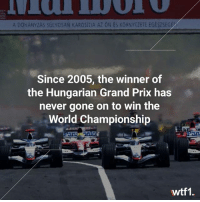 Winning Hungary is bad luck f1 formula1 hungariangp wtf1: A DOHANYZAS SULYOSAN KAROSITIA AZ ON ES KORNYEZETE EGESZSEG  Since 2005, the winner of  the Hungarian Grand Prix has  never gone on to win the  World Championship  an  an  wtf1. Winning Hungary is bad luck f1 formula1 hungariangp wtf1