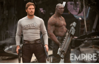 GUARDIANS OF THE GALAXY VOL. 2 image provides new look at Peter Quill and Drax!  (Andrew Gifford): A EMPIRE GUARDIANS OF THE GALAXY VOL. 2 image provides new look at Peter Quill and Drax!  (Andrew Gifford)