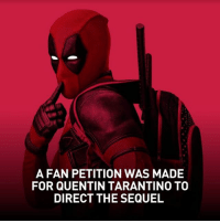 Did any of you sign this? -👀 -Follow @deadpoolfacts for your daily Deadpool dose. -💪 @vancityreynolds 🙌 wadewilson mercwithamouth marvelnation deadpoolfacts deadpoolnation deadpool marvel deadpool2 antihero lolz lmaobruh hahaha lmfao heh hehe MarvelousJokes: A FAN PETITION WAS MADE  FOR QUENTIN TARANTINO TO  DIRECT THE SEQUEL Did any of you sign this? -👀 -Follow @deadpoolfacts for your daily Deadpool dose. -💪 @vancityreynolds 🙌 wadewilson mercwithamouth marvelnation deadpoolfacts deadpoolnation deadpool marvel deadpool2 antihero lolz lmaobruh hahaha lmfao heh hehe MarvelousJokes