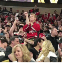 Stanley Cup, Washington, and Washington Capitals: A father and son share an emotional moment as the Washington Capitals finally win the Stanley Cup