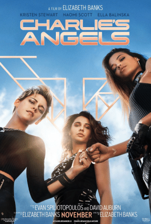 hawkeinhawkins:  ziraseal:  dailynaomiscott: New Charlie's Angels poster Elizabeth Banks gets the female gaze, man. She… she just gets it, man.   She also gets the female gays : A FILM BY ELIZABETH BANKS  NAOMI SCOTT  ELLA BALINSKA  KRISTEN STEWART  CHARL  ANGELS  EVAN SPILIOTOPOULOS AND DAVID AUBURN  ELIZABETH BANKS NOVEMBER ELIZABETH BANKS  SCREENPLAY  #CHARLIESANGELS CHARLIESANGELS.MOVIE hawkeinhawkins:  ziraseal:  dailynaomiscott: New Charlie's Angels poster Elizabeth Banks gets the female gaze, man. She… she just gets it, man.   She also gets the female gays