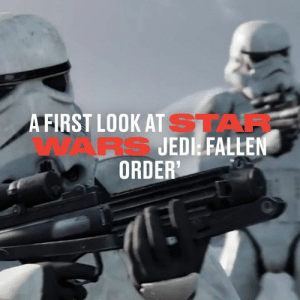 The new Star Wars Jedi: Fallen Order game is coming in November and looks like a 'force' to be reckoned with in the gaming world 😳😳: A FIRST LOOK AT STAF  WARS JEDI FALLEN  ORDER' The new Star Wars Jedi: Fallen Order game is coming in November and looks like a 'force' to be reckoned with in the gaming world 😳😳