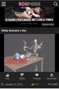 I got a boner for sure.: A GAME THAT MADE ME CUM 6 TIMES  Ad by Traffic Junky  Remove Ads  Kinky Anorexic s Sex  Like  Dislike  Download  January 21, 2016  91%  13,865 I got a boner for sure.