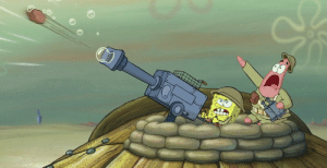 Germany, Hitler, and Time: A German soldier heils Hitler one last time before his bunker is destroyed by enemy aircraft. Germany, 1943 (colorized)