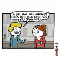 Thats Hot: A GIRL WHo LIKES WHISKEY!  THAT'S HOT. WHAT KIND ARE  YOU DRINKIN  2.