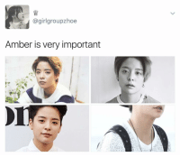 Memes, 🤖, and Amber: (a girlgroupzhoe  Amber is very important she's so pretty I cri . . . . . . . Credit to owner✌