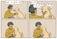 Dogs, God, and Good: a god boy??  You are  \ see all the efforts УойМа  and am  Proud Dogs arent the only good boys via /r/wholesomememes http://bit.ly/2EXKi4x