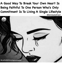 """Memes, Contradiction, and Punisher: A Good Way To Break Your Own Heart Is  Being Faithful To One Person Who's Only  Commitment Is To Living A Single Lifestyle  CsilentlyspokenProject  #Love YouBeforeLovingsomeoneElse LATENIGHTTHOUGHTS❤️ ____________________________________________ Yes of course! Accept a person for who they are....BUT! If who they prove themselves to be contradicts who they once led you to believe they were; then understand that's an entirely different story! Don't punish yourself by STAYING, HOPING & BELIEVING things will change if someone makes a complete 180 from who they once were & claimed to be! Because it is a """"PROVEN FACT"""" you can't be committed to someone who's only commitment is to being SINGLE & PRIORITY FREE! MRIUSEWHOIWANTFORMYPOSTS PAYATTENTIONTOTHEMESSAGE GOODVIBESONLYALLOWEDHERE GODUSESALLTHINGSFORTHEGREATERGOOD JUDGMENTFREEZONE ____________________________________________ STOPWHATYOUREDOINGRIGHTNOW (LIKE➕COMMENT➕TAG OTHERS➕SHARE➕FOLLOW⬇️) FollowTheONLYSilentlySpokenProject ➕FOLLOWIG:@SilentlySpokenProject ➕FOLLOWIG:@SilentlySpokenProject ➕FOLLOWIG:@SilentlySpokenProject ____________________________________________ ITSAMANSJOBTOFINDHISQUEEN💯 DEARFUTUREWIFEIMWAITING MRISAYWHATOTHERSWONT ACTIONSSPEAKSLOUDERTHANWORDS ITELLTHETRUTHNOTYOURTRUTH WEALLHAVEACHOICETOMAKE EXCUSESNOTSOLDHERESORRY EXCUSESNOTSOLDORACCEPTED SWYD AMANWHOACTUALLYGETSIT FAITHFILLEDROMANTIC FORHER SILENTLYSPOKENFROMTHEHEART FounderOfSILENTLYSPOKENPROJECT THEONLYSSP LOVEQUOTES BREAKUPQUOTES SILENTLYSPOKENPROJECT SSP"""
