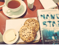 """Tea. Crumpets. Unread @maureenjohnson Shades Of London book. I'm 🇬🇧 as F*** this morning.: """"A gorgeously written, chilling, atmospheric thriller  CASSANDRA CLARE, New York Times bestselling author  THE  OF THE  S H A DES O F  L O N  maureen  New York Times Bests Tea. Crumpets. Unread @maureenjohnson Shades Of London book. I'm 🇬🇧 as F*** this morning."""