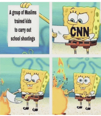 Memes, School, and Kids: A group of Muslims  trained kids  to carry out  school shootings  Ci 🗣@militarybadassery