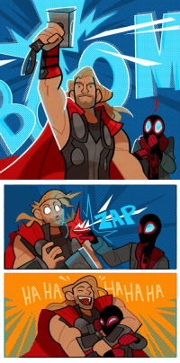 lousysharkbutt: so i went to spiderverse again patreon | twitter | instagram : A HA  AHA HA lousysharkbutt: so i went to spiderverse again patreon | twitter | instagram