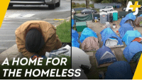 Soaring rents in Seattle are putting more and more people out on the street. So the city's homeless people came up with their own solution.: A HOME FOR  THE HOMELESS Soaring rents in Seattle are putting more and more people out on the street. So the city's homeless people came up with their own solution.