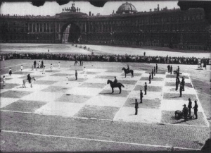Chess, Game, and Human: A human game of chess, 1924