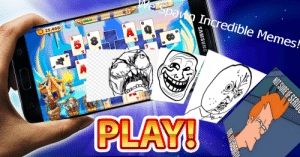 A.I. generated meme - A social media game spawns multiple incredible memes.: A.I. generated meme - A social media game spawns multiple incredible memes.