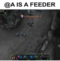 Who is the feeder? 😂: @A IS A FEEDER  for Death Recap  You have been slain  90 Who is the feeder? 😂