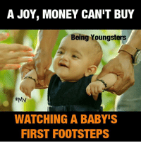 Memes, Money, and Joyful: A JOY, MONEY CAN'T BUY  Being Youngsters  #My  WATCHING A BABY'S  FIRST FOOTSTEPS