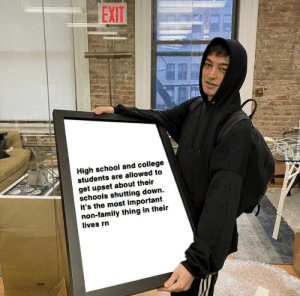 A kind reminder from our friend Joji: A kind reminder from our friend Joji