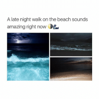 its morning lol: A late night walk on the beach sounds  amazing right now Oga its morning lol