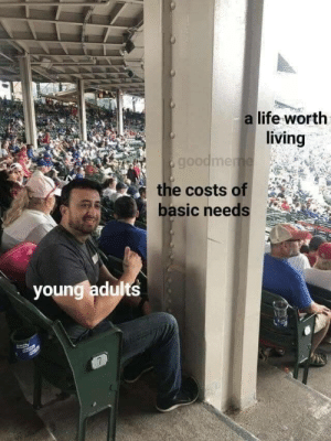 Meirl: a life worth  living  goodmeme  the costs of  basic needs  youngladults  7 Meirl