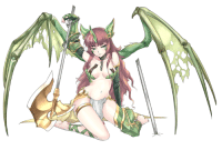 Dank, Girls, and Love: A little more dragon goodness for the monster girl loving masses, and this one's very battle hardened ;)! Try not to upset her as we begin repairs on her weaponry....  ~Horatio Cross  http://www.pixiv.net/member_illust.php?mode=medium&illust_id=57108225
