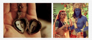 A Little Princess (1995)- In scenes where Sara is telling the story of The Ramayana, the characters Prince Rama and Princess Sita are played by her father and late mother (actors Liam Cunningham and Alison Moir): A Little Princess (1995)- In scenes where Sara is telling the story of The Ramayana, the characters Prince Rama and Princess Sita are played by her father and late mother (actors Liam Cunningham and Alison Moir)