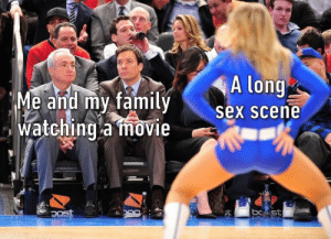Dank, Memes, and Sex: A long  Me and mv familv  sex scene  Watching a mbvie  Watchina movie meirl by TwesTo MORE MEMES