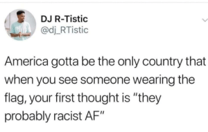 """A lot of people mix """"patriotism"""" with """"nationalism"""". (via /r/BlackPeopleTwitter): A lot of people mix """"patriotism"""" with """"nationalism"""". (via /r/BlackPeopleTwitter)"""