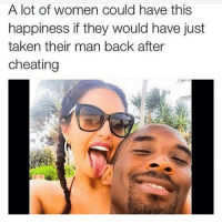 Better stop playing 😂😂😂: A lot of women could have this  happiness if they would have just  taken their man back after  cheating Better stop playing 😂😂😂