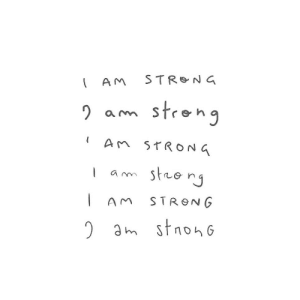 Strong, A&m, and M: a m  AnTRONG  AM STRONG