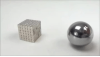 Slow Motion, Motion, and Slow: A magnetic collision in slow motion