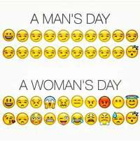 Girls, Gym, and Mood: A MAN'S DAY  A WOMAN'S DAY Girls go through 24 moods in 24 hours 😂