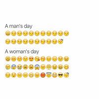 Guess, Girl Memes, and Ims: A man's day  A woman's day Guess I'm a woman