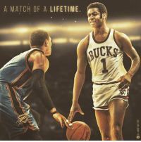 HIST0RY: Russell Westbrook has just broken Oscar Robertson's record with his 42nd triple-double. 👉 WHO wins in a 1-on-1!? - Leave requests & follow @slamstudios for more! 👈 - russellwestbrook westbrook thunder okc 70 okcthunder oscarrobertson tribledouble lebron warriors westbrook harden nba sports basketball: A MATCH OF A LIFETIME.  RUCKS HIST0RY: Russell Westbrook has just broken Oscar Robertson's record with his 42nd triple-double. 👉 WHO wins in a 1-on-1!? - Leave requests & follow @slamstudios for more! 👈 - russellwestbrook westbrook thunder okc 70 okcthunder oscarrobertson tribledouble lebron warriors westbrook harden nba sports basketball