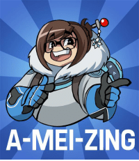 So I just got to play Overwatch today for the first time...hoW late to the party am i? ~sunbutt: A-MEI-ZING So I just got to play Overwatch today for the first time...hoW late to the party am i? ~sunbutt