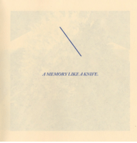 Memory, Like, and Knife: A MEMORY LIKE A KNIFE