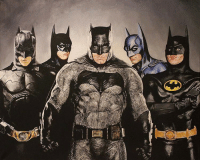"""Good afternoon Gothamites and I hope you're all having a terrific Tuesday! Today we will conclude """"50 Tales of 50 Years: A Celebration of Barbara Gordon""""! To kick off this geeky day, here is a live action Batman painting by illustrator Matthew Edewaard @Edewaardmusic! To see more of their tattoo art and other works, please visit @Edewaardmusic's website at Edewaard.com! Which Batman is your favorite? Thanks for following and we'll have more History of the Batman soon! ✌🏼💙💛🎨: a  , mn Good afternoon Gothamites and I hope you're all having a terrific Tuesday! Today we will conclude """"50 Tales of 50 Years: A Celebration of Barbara Gordon""""! To kick off this geeky day, here is a live action Batman painting by illustrator Matthew Edewaard @Edewaardmusic! To see more of their tattoo art and other works, please visit @Edewaardmusic's website at Edewaard.com! Which Batman is your favorite? Thanks for following and we'll have more History of the Batman soon! ✌🏼💙💛🎨"""