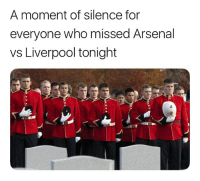 😢👏🏽⚽️ What a Game Football Rivalry EPL Arsenal Liverpool Thriller Match: A moment of silence for  everyone who missed Arsenal  vs Liverpool tonight 😢👏🏽⚽️ What a Game Football Rivalry EPL Arsenal Liverpool Thriller Match