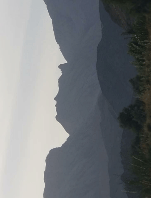 A Mountain resembling Donald Trump found in Balochistan, Pakistan.: A Mountain resembling Donald Trump found in Balochistan, Pakistan.