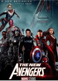 New Avengers yes or nah? - Spideypool: A N E W B E GIN NIN G  COMING 20 2 S  THE NEW  MARVEL  STTIDS New Avengers yes or nah? - Spideypool