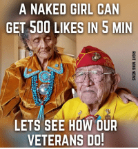 They are almost all gone!! Let's show our respect!  LIKE OUR PAGE IF YOU ARE CONSERVATIVE!----> Right Wing News: A NAKED GIRL CAN  GET 500 LIKES IN 5 MIN  LETS SEE HOW OUR  VETERANS DO They are almost all gone!! Let's show our respect!  LIKE OUR PAGE IF YOU ARE CONSERVATIVE!----> Right Wing News