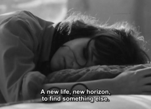 horizon: A new life, new horizon,  to find something else