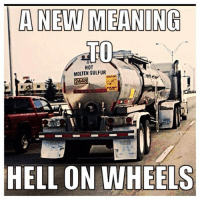 Mean Memes: A NEW MEANING  TO  HOT  MOLTEN SULFUR  2448  HELL ON WHEELS