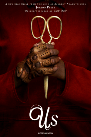 pearlmarley:  thecinematics: First Official Poster of Us (2019), dir. Jordan Peele.Starring: Lupita Nyong'o, Winston Duke, Elisabeth Moss, Yahya Abdul-Mateen II, Anna Diop, Evan Alex, Tim Heidecker, Madison Curry, Shahadi Wright Joseph, Cali Sheldon, Noelle Sheldon.In theatres March 15, 2019.  🙏🏽  Next week tho: A NEW NIGHTMARE FROM THE MIND oF AcADEMY AwARD WINNER  JoRDAN PEELE  WRITER/DIRECTOR OF GET OUT  COMING SOON pearlmarley:  thecinematics: First Official Poster of Us (2019), dir. Jordan Peele.Starring: Lupita Nyong'o, Winston Duke, Elisabeth Moss, Yahya Abdul-Mateen II, Anna Diop, Evan Alex, Tim Heidecker, Madison Curry, Shahadi Wright Joseph, Cali Sheldon, Noelle Sheldon.In theatres March 15, 2019.  🙏🏽  Next week tho