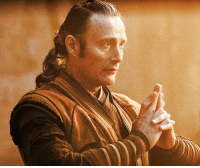 Doctor, Memes, and Rogue: A new photo of Mads Mikkelsen's Kaecilius in DOCTOR STRANGE before turning rogue.  (Brian)