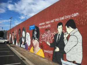 Bad, Streets, and Boy: a' nis bad boy can Melbourne streets