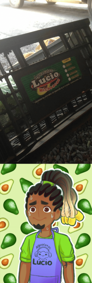 "Funny, Tumblr, and Avocado: A No 2574 MDO DE ABASTOS 10 32 11 59388   Lúcio meraki-creates:  So I found this avocado crate with the tag ""Aguacates Lucio."" I couldn´t help it and I actually drew my frog boi. It found it super funny. Extras"